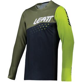 Leatt DBX 4.0 Ultraweld Jersey Men, verde/negro
